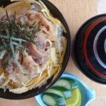 牛焼丼 (味噌汁・漬物付)